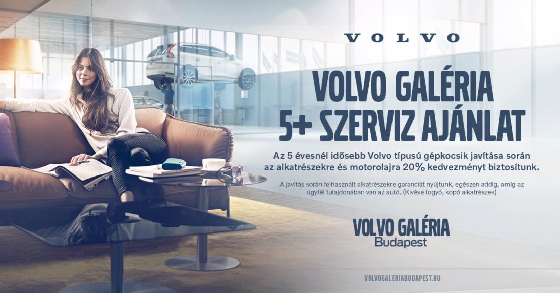 Volvo 5+ Szerviz Ajánlat