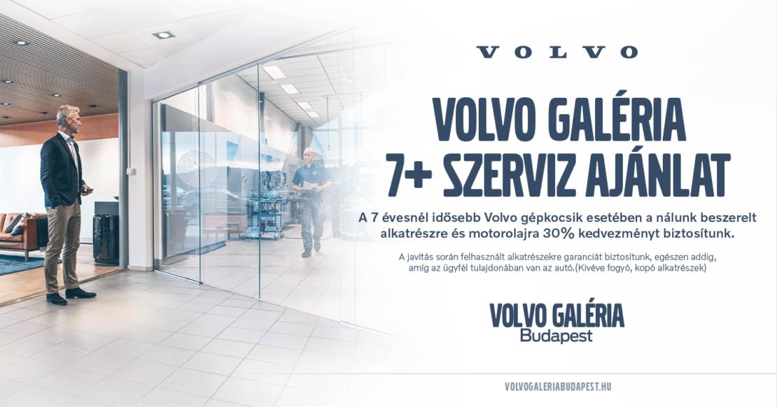 Volvo 7+ Szerviz Ajánlat